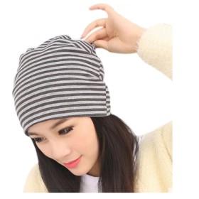 FollowDream 抗がん剤 医療用帽子 ビンテージ風ボーダーサマーキャップ(夏用)ワッチ ユニセックス帽 ニット帽 薄い ハット春夏用 室内用 医療用ウィッグに着用も可能