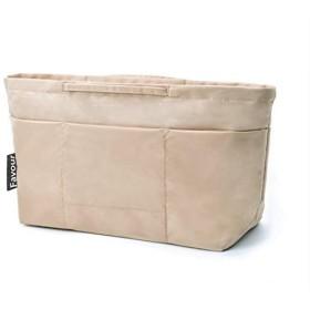 バッグインバッグ バックインバック a4 自立 軽量 トート ハンド バッグに整理 ベージュ S