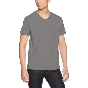 (ギルダン)GILDAN Tシャツ 63V00 アダルトVネック Tシャツ 63V00 チャコール 2XL