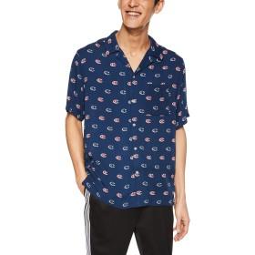[チャンピオン] ショートスリーブシャツ C3-P348 メンズ ネイビー 日本 XL (日本サイズXL相当)