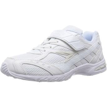 [シュンソク] 通学履き(運動靴) レモンパイ マジックタイプ LEJ 2870 W/W (白/白/19.0)