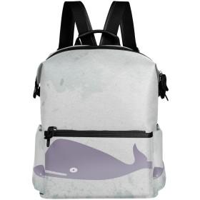 AOMOKI リュック リュックサック メンズ レディース 通勤 通学 大容量 鯨