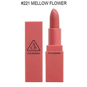 3CE ムードレシピ マットリップカラー(#221 MELLOW FLOWER)