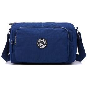 XIRUbaby ショルダーバッグ 斜め掛けバッグ レディース 撥水 鞄 2way 肩掛け 多機能 小物整理 ナイロン 大容量 アウトドア 通勤