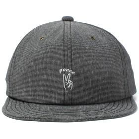 Basiquenti キャップ Hand Sign Ball Cap 帽子 レディース メンズ 通年 サイズ調整 フリーサイズ ブラック