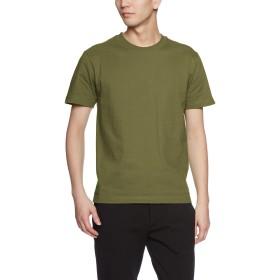 (ライフマックス)LIFEMAX(ライフマックス) 6.2oz ヘビーウェイトTシャツ MS1149(ユニセックス・無地) MS1149 24 カーキ L