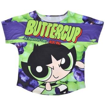 (エーシーディーシーラグ) ACDC RAG バターカップTシャツ パワーパフガールズ パワパフ 原宿系