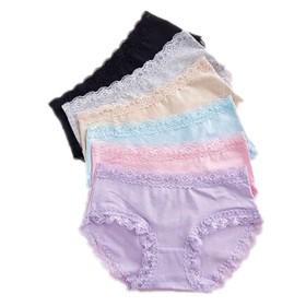 (パイミ)PAIMI ショーツ レディース パンツ 下着 綿100% 可愛い レース かわいい 3枚 6枚 セット 大きいサイズ