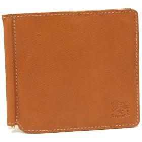 [イルビゾンテ]折財布 マネークリップ メンズ IL BISONTE C0471P 145 キャラメル [並行輸入品]