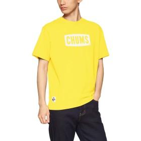 [チャムス] Tシャツ CHUMS Logo T-Shirt Lemon 日本 M (日本サイズM相当)