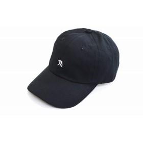 (アーノルドパーマー)arnold palmer 383001 キャップ 帽子 メンズ 紳士 レディース 婦人 男女兼用 ユニセックス 6P 刺繍入り ワンポイント ロゴ おしゃれ UVケア ネット通販 春夏 (ブラック)