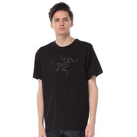 (アークテリクス) ARC'TERYX 綿100% アーキオプテリクス クルーネック 半袖 Tシャツ [24024]ブラック/S