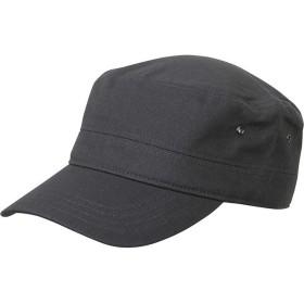 (マートルビーチ) Myrtle Beach ユニセックス Military ミリタリーキャップ ワークキャップ 帽子 (ワンサイズ) (アンスラサイトグレー)