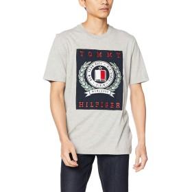 (トミーヒルフィガー) TOMMY HILFIGER クレスト Tシャツ MW0MW08357 XL グレー