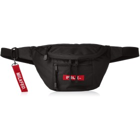 [ミルクフェド] MINI FANNY PACK LOGO TAG 03182064 RED