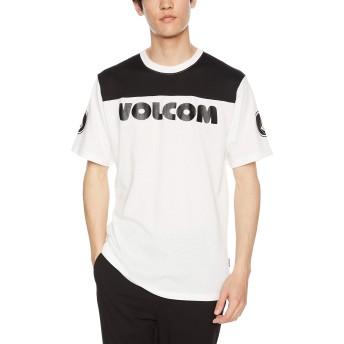 [ボルコム] [メンズ] 半袖 プリント Tシャツ (セットアップ対象)[ A01119JA / V Mesh S/S Tee ] おしゃれ ロゴ WHT_ホワイト US L (日本サイズL相当)