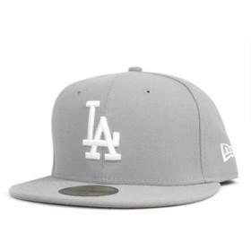 NEW ERA(ニューエラ) キャップ ロサンゼルス ドジャース グレー 帽子