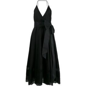 Nº21 リボン ミディドレス - ブラック