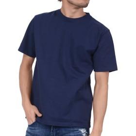 ティーシャツドットエスティー Tシャツ 半袖 無地 超厚手 スーパーヘビーウェイト 10.2oz メンズ ネイビー S