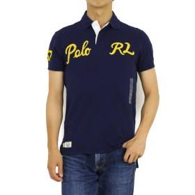 (ポロ ラルフローレン) POLO Ralph Lauren カスタムフィット メンズ 刺繍ロゴ ポロシャツ CUSTOM FIT 0105517 [並行輸入品]