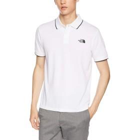 [ザ・ノース・フェイス] ポロシャツ ショートスリーブマキシフレッシュラインドポロ メンズ ホワイト 日本 L (日本サイズL相当)