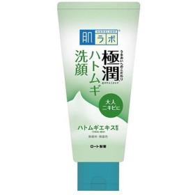 ロート製薬 肌ラボ 極潤 ハトムギ洗顔フォーム 100g
