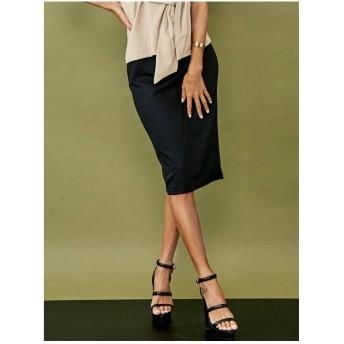 RESEXXY ベーシックタイトスカート ブラック