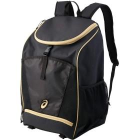 [アシックス] スイムバッグ バックパック35 パフォーマンスブラック/ゴールド