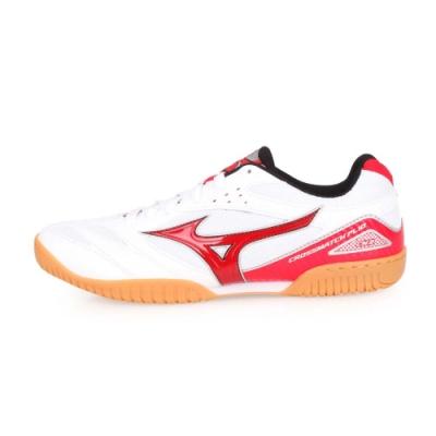 MIZUNO CROSSMATCH PLIO CN3 男桌球鞋-乒乓 白紅黑