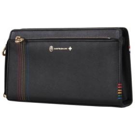 (Bag & Luggage SELECTION/カバンのセレクション)カステルバジャック シェスト セカンドバッグ ハンドバッグ メンズ 牛革 027222/ユニセックス ネイビー 送料無料