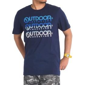 tシャツ メンズ 大きいサイズ 半袖 outdoor アウトドア c593te 4L ネイビー67