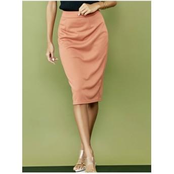 RESEXXY ベーシックタイトスカート オレンジ