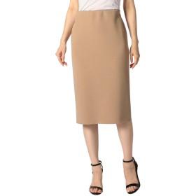(ノーリーズ ソフィー) NOLLEY'S sophi インゴムタイトスカート 8-0030-1-06-012 34 キャメル
