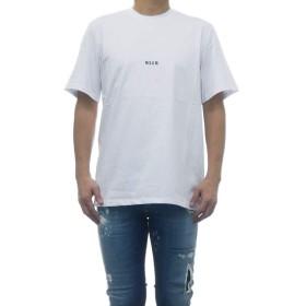 (エムエスジーエム) MSGM 2640MM162 メンズ Tシャツ ホワイト XS