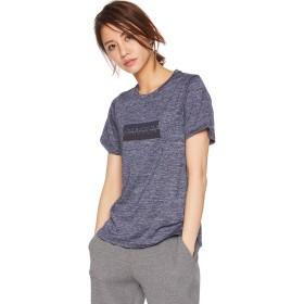 [ダンスキン] フィットネスウェア COLOR HEATシャツHERクルーTシャツ [レディース] DB79116 ダークネイビー (DN) 日本 M (日本サイズM相当)