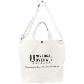 [ユニバーサルオーバーオール] UNIVERSAL OVERALL トートバッグ キャンバス 大きめ レディース ブランド メンズ 通勤 通学 おしゃれ ロゴ
