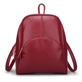 Cloveronline スクエアリュック レザー リュックサック レディース デイパック バッグ おしゃれ 大人 可愛い 小型 リングハンドル ファッション おしゃれ 通勤 通学