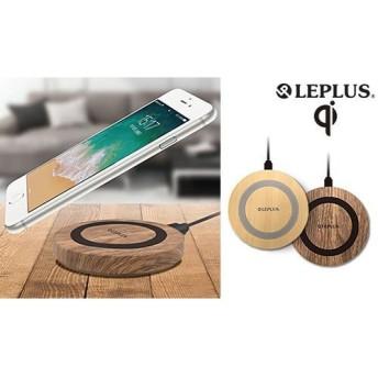 【在庫処分特価/2色展開】スマートフォンを「置くだけ」で充電できるスマートチャージャー。あたたかみのあるウッド調デザイン。Qi対応機種に幅広く対応《木目調ワイヤレス充電器》 モバイルアクセサリ 充電器・チャージャー iOS用 - 選択してください - au WALLET Market