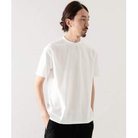 [ワークノットワーク] tシャツ コットンナイロンクルーネックチューブTシャツ メンズ WHITE M