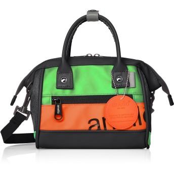[アネロ] ショルダーバッグ 90's 口金2WAYミニショルダーバッグ AT-B2792 ライトグリーン/オレンジ