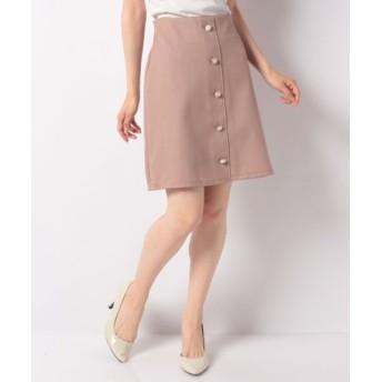 (INGNI/イング)アソート釦変わり織り台形/スカート/レディース モカ