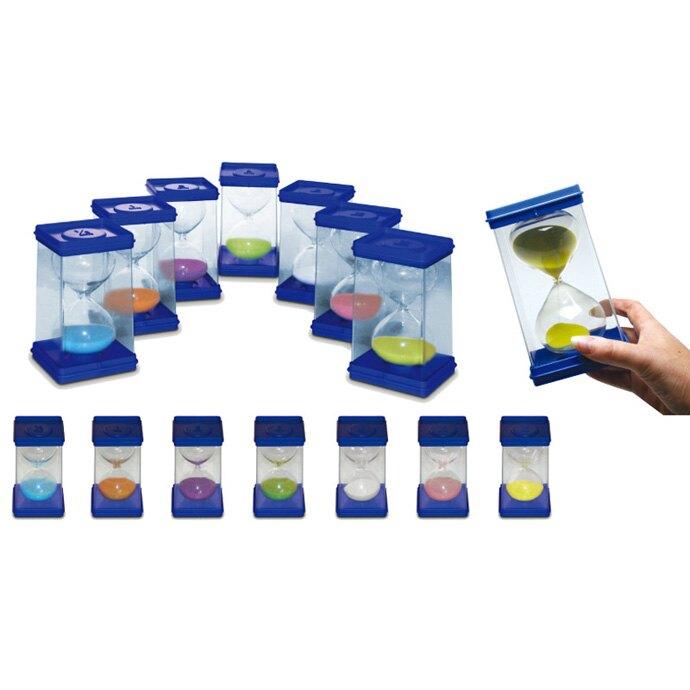 【華森葳兒童教玩具】數學教具系列-沙漏時間組 N4-IV147-C003