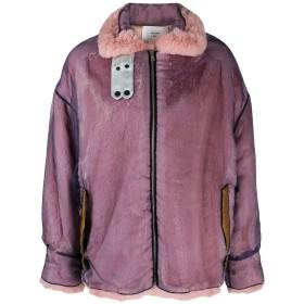 Quetsche オーバーサイズ ジャケット - パープル