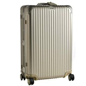 (リモワ)/RIMOWA キャリーバッグ メンズ TOPAS TITANIUM スーツケース ELECTRONIC TAG(エレクトロニックタグ) 82L シャンパンゴールド 92473035-0002-0014 [並行輸入品]