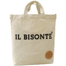 イルビゾンテ IL BISONTE トートバッグ ユニセックス バック カバン 鞄 ショルダーバッグ (サイズ2)