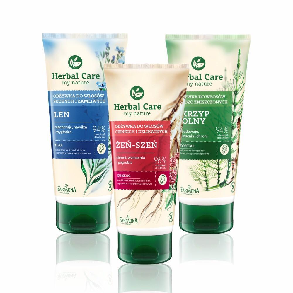 波蘭Herbal Care 乾濕兩用光澤瞬效強健護髮素 200ml (3款任選) 蝦皮24h 現貨