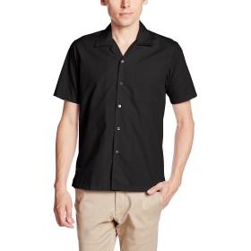 [フェイスミックス] ブロードオープンカラー半袖シャツ FB4529U メンズ ブラック 日本 LL-(日本サイズXL相当)