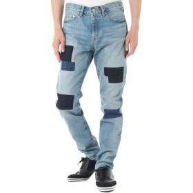 [アズールバイマウジー] パンツ ジーンズ デニム パッチデザインスリムデニム メンズ ブルー 31inch