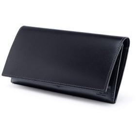 [フジタカ] コードバン 長財布 コードバン カード段25 ステイン財布 No.633605 クロ