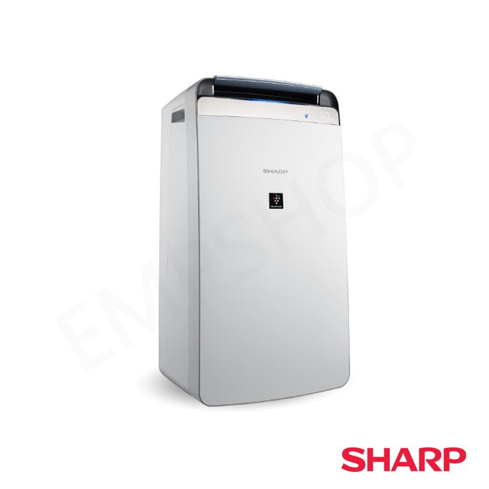 【夏普SHARP】10L自動除菌離子清淨除濕機 DW-J10FT-W【能源效率1級!可申請貨物稅900】